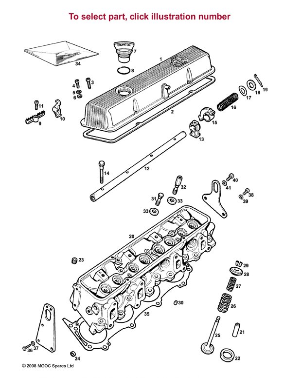 mgb cylinder parts free wiring diagram images