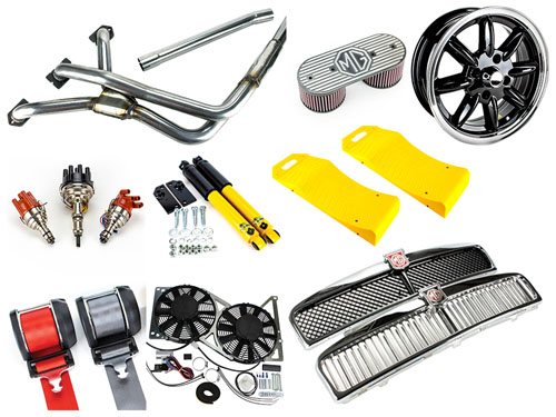 MGOC Spares MG Classic & Modern Parts Accessories